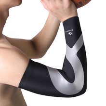 Kuangmi 1 PCS Elbow Brace Compression Support Arm Sleeve Pad for Weightlifting Arthritis Volleyball Tennis Tendonitis