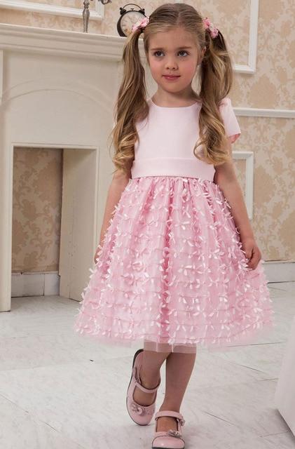 Europe United States baby flower girl dress 5 years ...  Europe United S...
