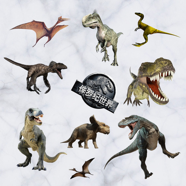 Online Shop Kids Bedroom D Dinosaur Wall Stickers Removable Diy - 3d dinosaur wall decalsd dinosaur wall stickers for kids bedrooms jurassic world wall