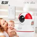Wireless Security Camera WiFi Alarm System Baby Monitor Video Surveillance WiFi Camera + PIR Infrared Motion Sensor BW12R