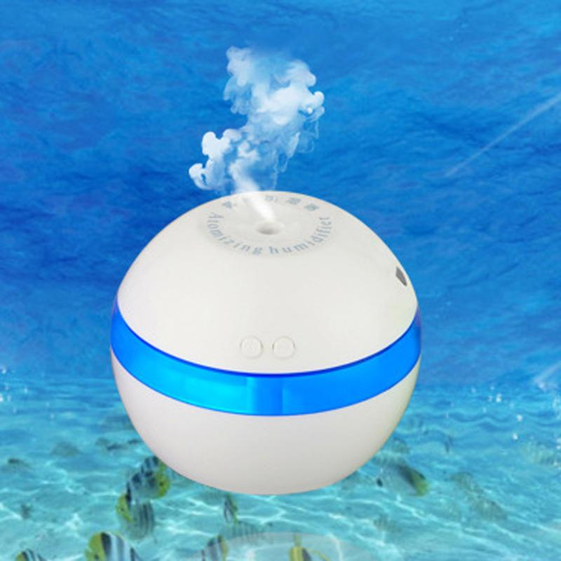 Portable Mini USB Aromatherapy Humidifier Diffuser Essential Oil Diffuser Air Purifier Mist Make for Office Home Car 200ml Hot portable mini air humidifier purifier night light with usb for home office decorations