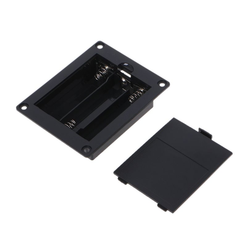 DIY Plastic 18650 Battery Holder Storage Box Case For 3x 18650 3.7V Li-ion Rechargeable Battery