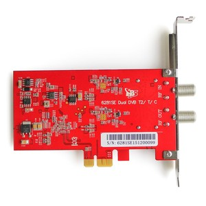 Image 3 - TBS6281SE DVB T2/T/C デュアルチューナーの Pcie カード楽しむ FTA 地上デジタル/ケーブル FTA テレビとデジタルステレオ Pc 上でラジオ