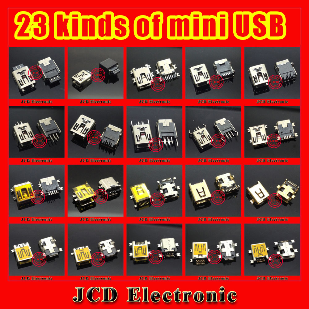 For/Samsung/Lenovo/Huawei /ZTE/Blackberry/Android Mobile phone Tablet PAD Mini Micro USB Connector Charging port 23 Kinds V3
