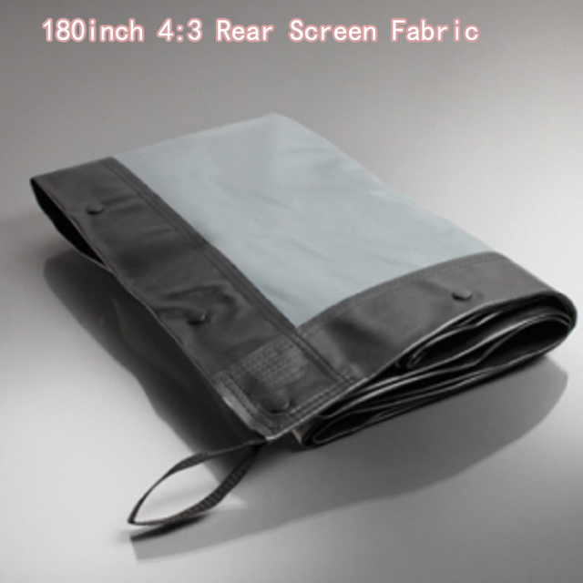 180inch 4:3 Rear Projector Screen Fabric Quality Picture Use For ...