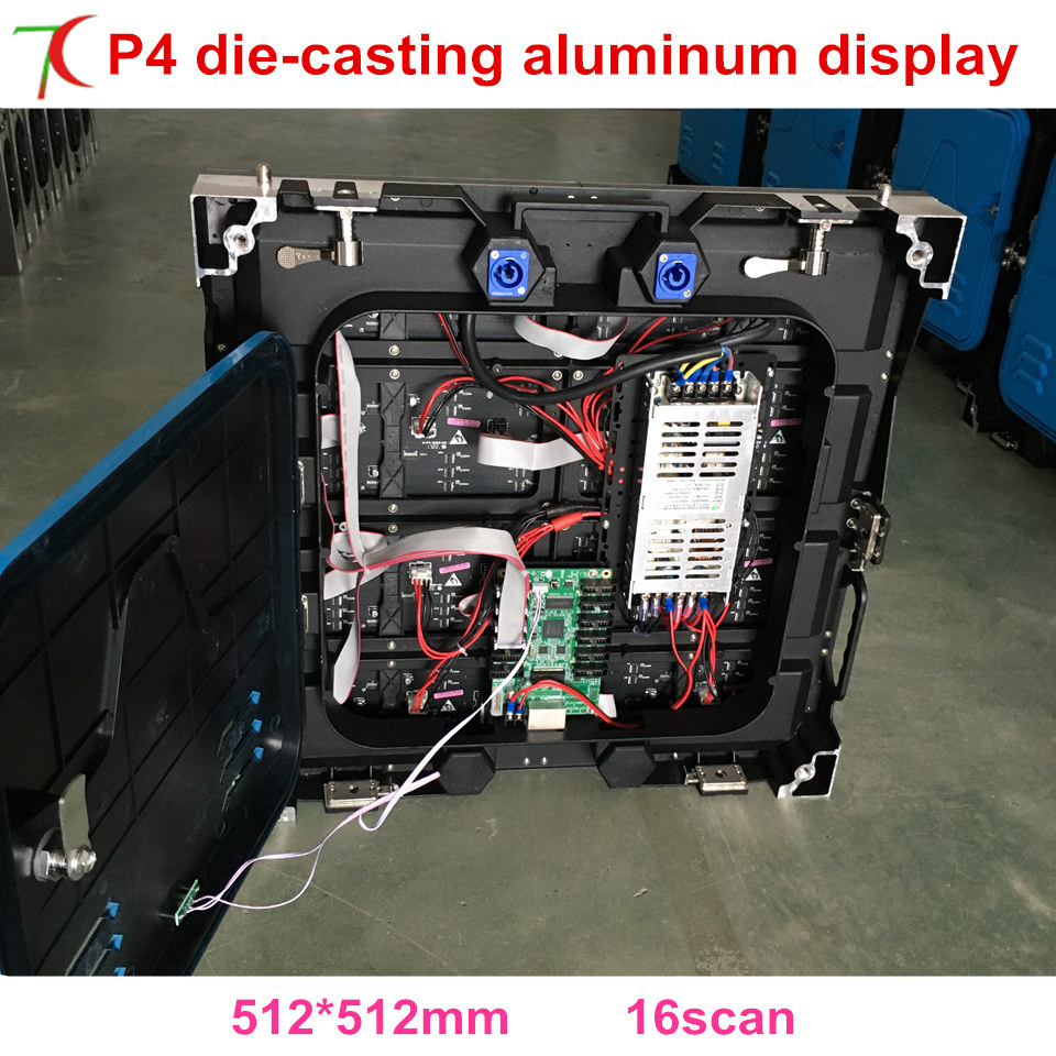 P4 Indoor 512*512mm 16scan Screen Widely Used In Stages, Conference, Wedding, Studios And Some Other Large Entertainment Places.