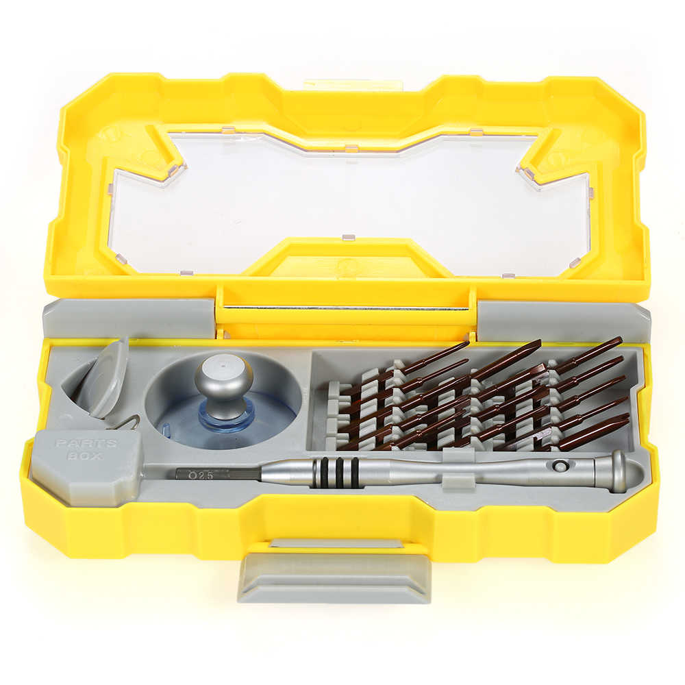19 в 1 магнитным бит отвертка Torx Hex прорези и Phillips отвертки комплект ремонтный комплект инструментов для мобильного телефона ноутбук