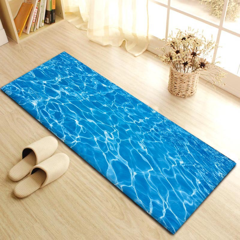 RFWCAK Modern LivingRoom Bedroom Floor Mat Decorative Sofa Carpets Hallway Mats Pastoral Window Tatami Pad Non slip Doormat in Mat from Home Garden