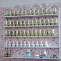 3 Unids/set colgando estante de exhibición Cosmética de uñas estante polaco
