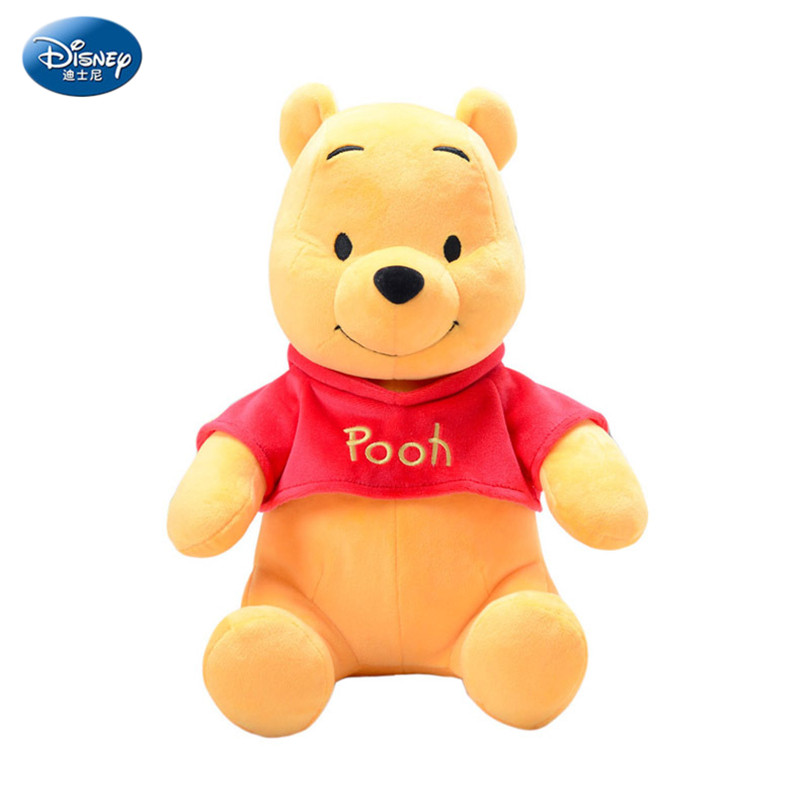 cd24ff7db862 Disney Genuine Winnie The Pooh Bear Plush Toy Doll Pooh Stuffed Plush Dolls  Toys Birthday Gifts for Children Girl Gift ZFY097