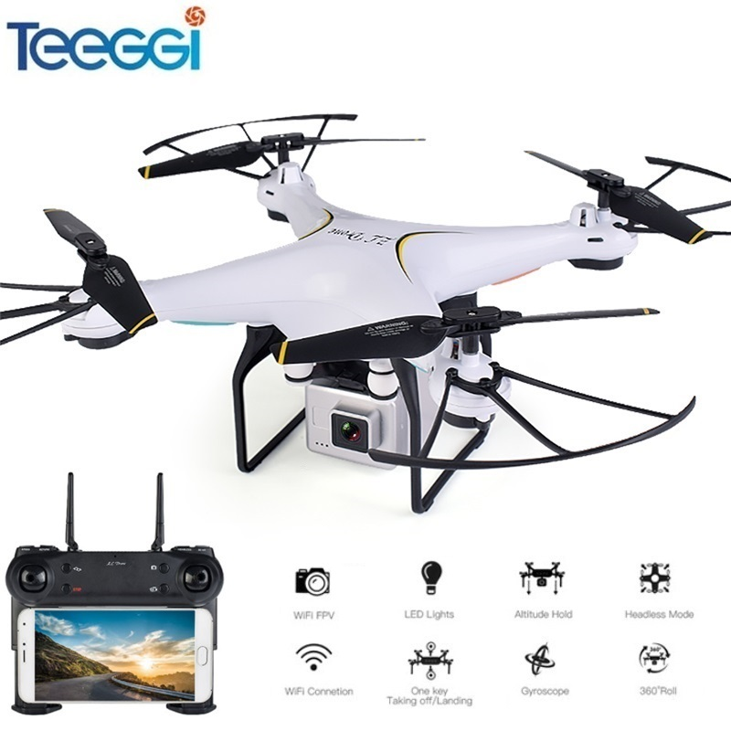 Teeggi SG600 FPV RC Drone With 2MP 720P WiFi HD Camera Quadcopter Altitude Hold A Key Return Helicopter VS SYMA X5SW Dron