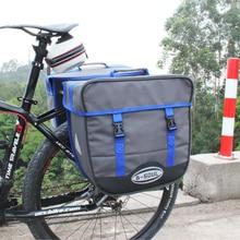 B-SOUL 20L Waterproof Bicycle Bag Panniers Single Side Rear Rack Tail Seat Trunk Bag Pannier with Rain Cover Bike Bags 2 Color