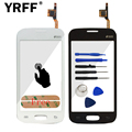 """For Samsung Galaxy Star Pro S7262 S7260 7262 7260 Touch Screen Digitizer Glass With """"duos"""" Panel Sensor + Adhesive Free Shipping"""