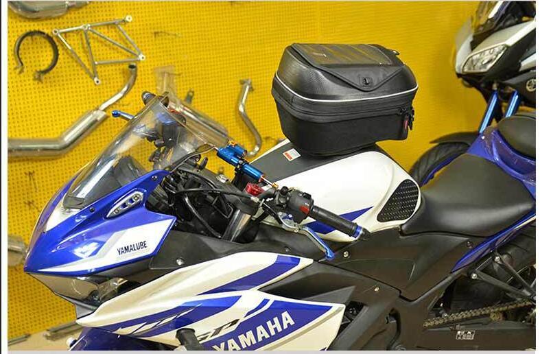 Image 5 - CUCYMA 18 23L мотоциклетная масляная топливная сумка без ручки карманы для навигации по мобильному телефону сумка gps для KTM KAWASAKI DUCATI-in Сумки на бак from Автомобили и мотоциклы