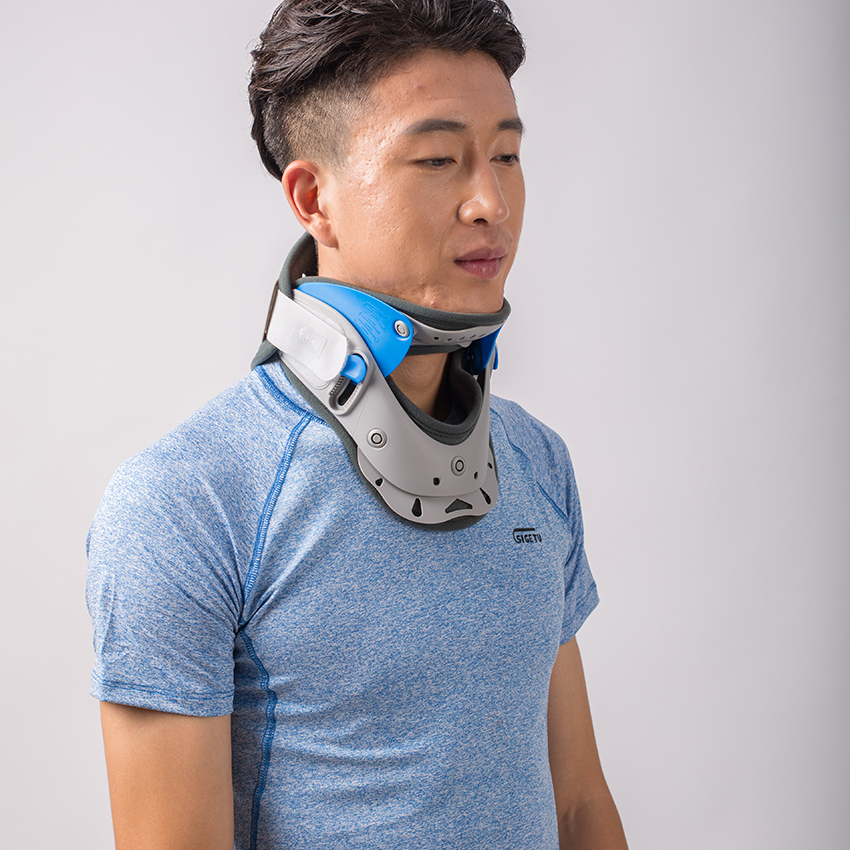 inflatable neck traction instructions