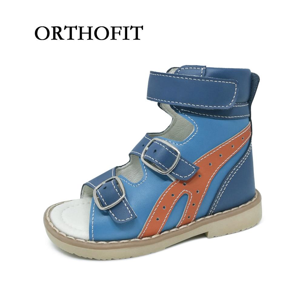 New Arrive Summer Kids Boy Orthopedic Shoes Genuine ... Orthopedic Shoes For Kids That Tiptoe