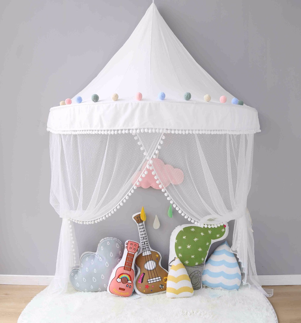 Zelt für Kinderzimmer Baby Betthimmel Tipi Enfant Teepees für ...