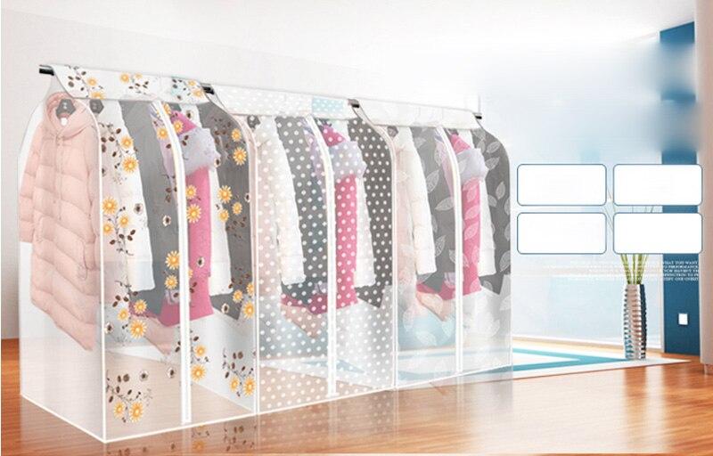 new oxford cloth hanging garment suit coat dust cover protector wardrobe storage bag in storage. Black Bedroom Furniture Sets. Home Design Ideas