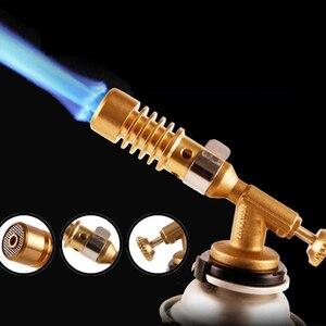 Image 4 - Nuovo In Ottone Gas Torcia di Brasatura Saldatura Ugelli Durevole Riscaldamento Saldatura Burner per Cilindri