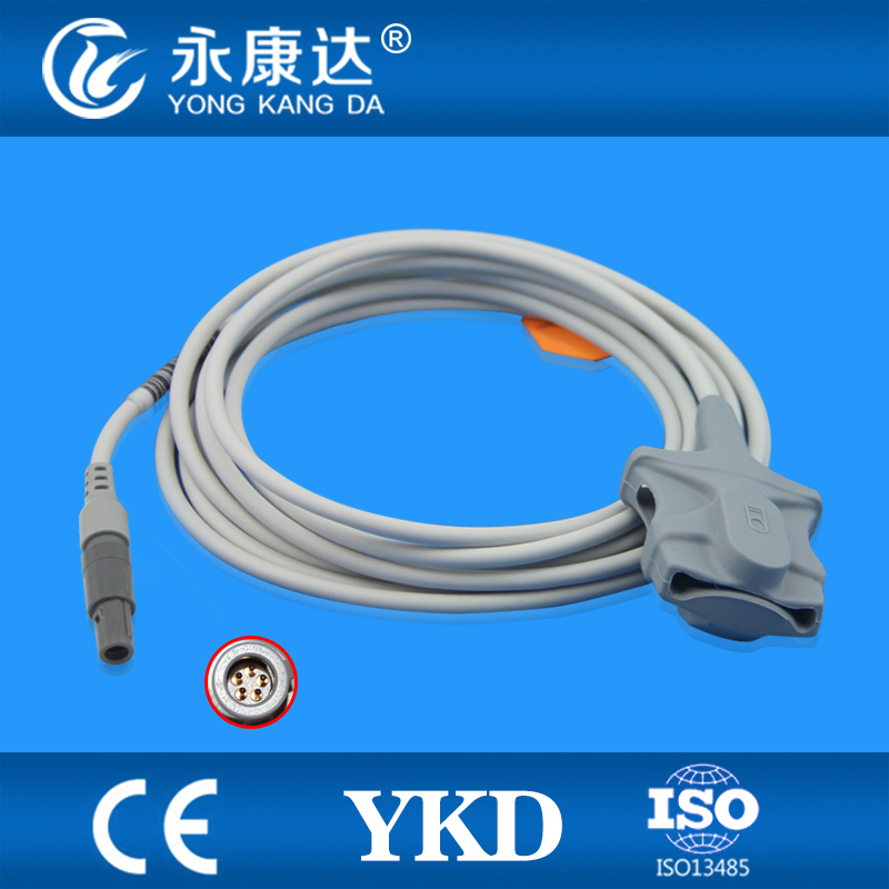 Capteur de pointe souple adulte compatible BLT Biolight, 3 m, 5pinCapteur de pointe souple adulte compatible BLT Biolight, 3 m, 5pin