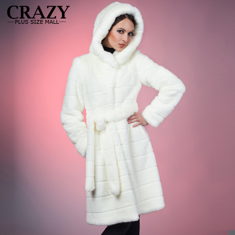 Popular Plus Size Fur Coats Women-Buy Cheap Plus Size Fur Coats ...