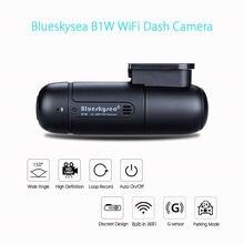 Blueskysea B1W 1080P IMX323 Novatek GM8135S Mini WiFi Car Dashcam DVR Camera H.264 360degree MP4 Rotate Capacitor G-Sensor