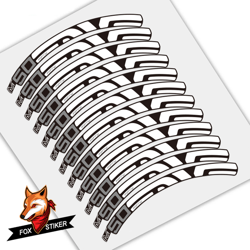 STAR SAM® TIRE STICKERS Enve M50 Fifty STICKERS MTB 26 INCHES