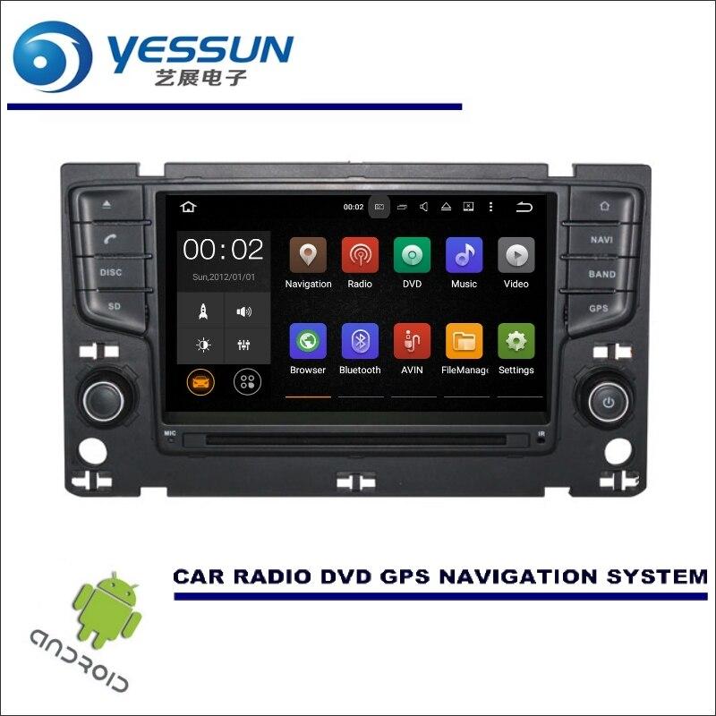YESSUN voiture multimédia Navigation pour Volkswagen VW GOLF 7/Passat B8 CD DVD GPS lecteur Navi Radio stéréo Wince/Android