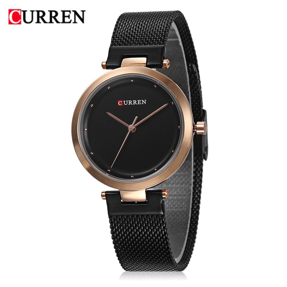CURREN 9005 Luxury Women Watch Famous Brands Gold Fashion Design Bracelet Watches Ladies Women Wrist Watches Relogio Femininos wholesale drop shipping (12)