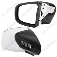 Motorcycle Mirror Black White Rearview Side Mirrors For BMW K1200 K1200TL K1200M 1999 2008 2007 2006 Accesorios Moto UNDEFINED