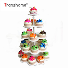 Cupcake Stand Dessert-Rack Macaron-Tower Decoration Wedding Transhome 5-Tier