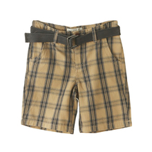 2017 New Summer Cotton Shorts for Boys Kids Casual Plaid Shorts Fashion Children Boys Beach Shorts For 2-7Y Without Belt DQ415