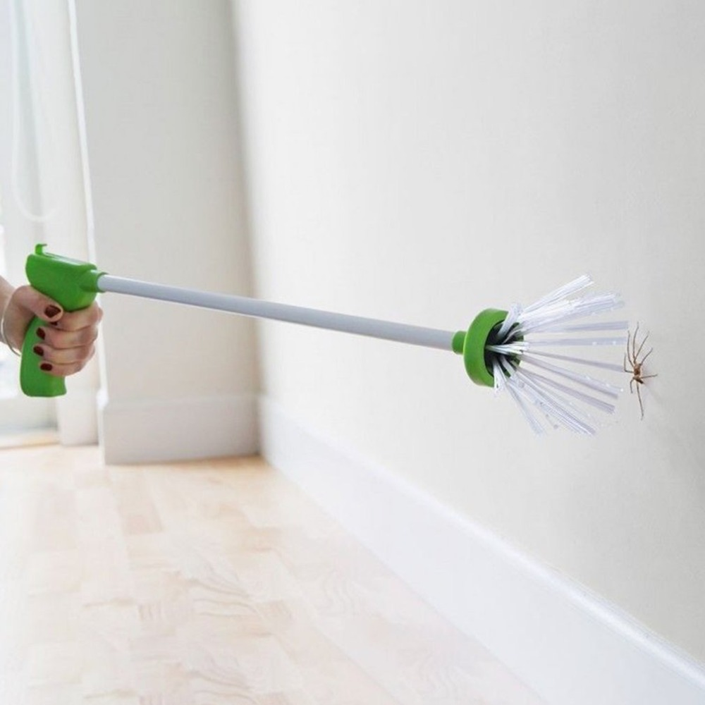 Hand-held Insect Catcher Spider Grabber Eco-Friendly Outdoor Indoor Bug  Catcher For Crickets Beetles Cockroaches