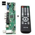 Универсальный Контроллер ЖК Доска Разрешение ТВ Материнская Плата VGA/HDMI/AV/TV/USB/HDMI Интерфейс Водитель Борту