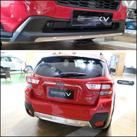 304 Stainless Steel Skid Plate Bumper Guard Bumper Protection Bull Bar For SUBARU XV 2PCS Set