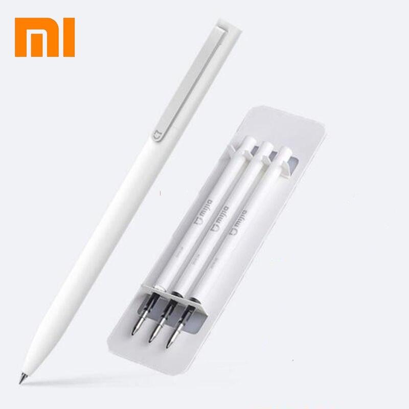 Originale Xiaomi Mijia Segno di Penna MI Penna 9.5mm Firmare Penna PREMEC Liscia Svizzera Ricarica MiKuni Giappone Inchiostro Migliore Regalo