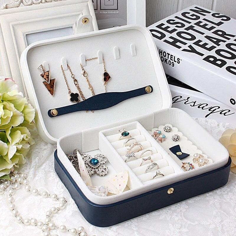 Small boxes for jewelry box travel jewelry organizer case caixa de
