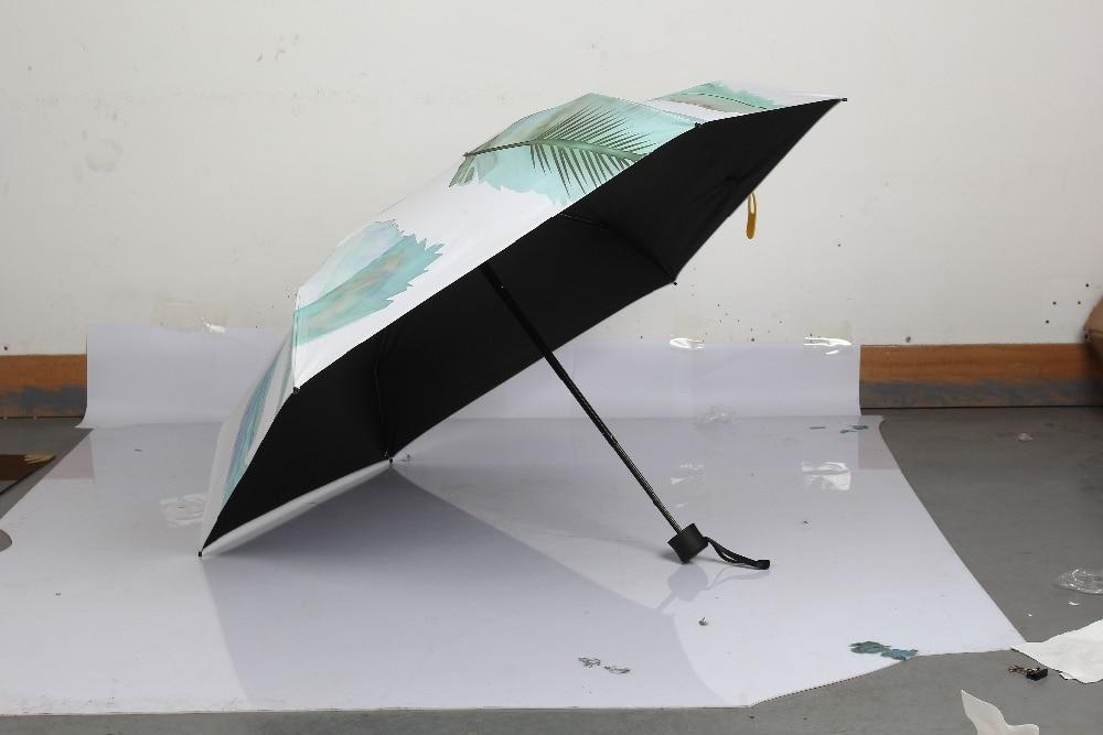 marke 5 falten regenschirm weibliche regenschirme mini tasche mode - Haushaltswaren - Foto 5