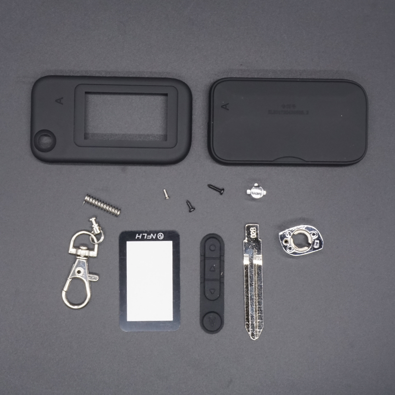 Starline A92 Fold Blade Fob Case Cover A94 A95 V63 T94 Folding Car Flip Remote + A92 Glass Alarm Keychain New Case Accessories