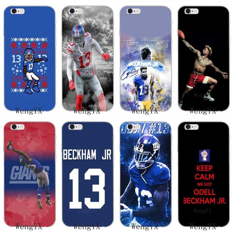 Американский футбол в стиле odell Бекхэм jr мягкий чехол для Huawei Honor 4C 5c 5x 6x V10 Y5 Y6 Y7 II Коврики, 7, 8, 9, 10, P8 P9 P10 Lite plus 2017