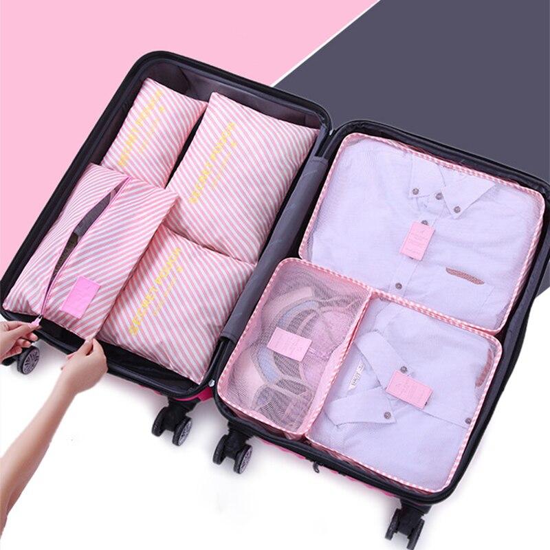 Sac polochon voyage cubes nuit sacs femmes bolsas de viaje mujer
