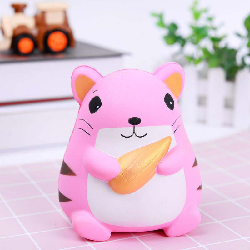 2018 Jumbo Squishy Toys Children Slow Rising Antistress Toy Cat Hamburger Fries Squishies Stress Relief Toy Funny Kids Gift Toy 2pcs stress relief world map jumbo ball atlas globe palm ball planet earth ball stress relief slow rising squishies toys