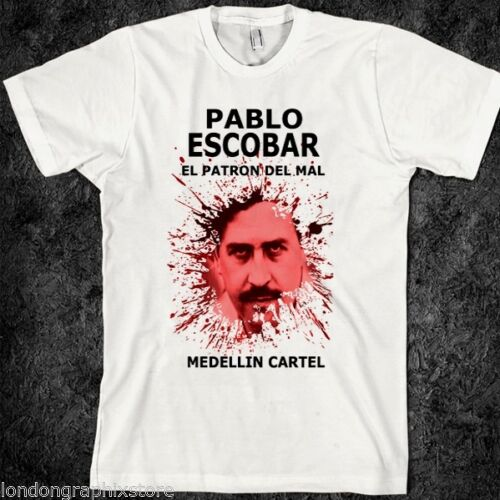 King of Cocaine TV Series Fans El Narco Pablo Escobar Rule Out Homme Casual T-Shirt