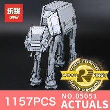 1157 Unids Lepin 05051 Star Wars Fuerza Despertar El EN Medios de Transporte Blindado Robot EN Bloques de Construcción Ladrillos de Juguetes Educativos 75054