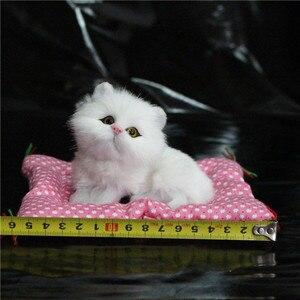 Image 2 - 1 Pc סופר הסימולציה Kawaii עיתונות נשמע גורים חתולים בפלאש צעצועי יום הולדת בובה ממולאת קישוט בית מתנות