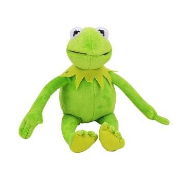 Новое поступление 41 см Улица Сезам плюшевые игрушки лягушонок Кермит Мягкие плюшевые куклы для детей подарок