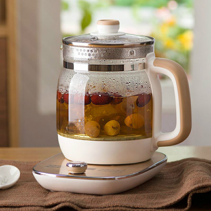 Full automatic thickened glass electric kettle mini boiled teapot multi-function warm milk kettles Safety Auto-Off Function glass electric kettle automatic power supply kettles automatic power supply safety auto off function
