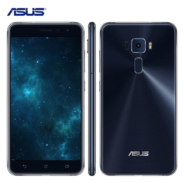 """Оригинальный Asus Zenfone 3 ZE552KL 5.5 """"Qualcomm Octa-Core 2.0 ГГц Сотовые Телефоны Android 6.0 4 ГБ RAM 64 ГБ ROM 16.0MP 4 Г Мобильный телефон"""