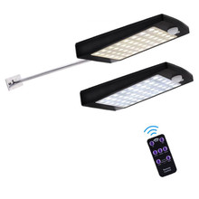 Super Bright 48 LED Waterproof PIR Motion Sensor Solar Powered Light ,led solar lights Garden Security Lamp Outdoor Street Light super bright 24 leds solar street light led on the wall waterproof outdoor lighting solar lamp with 4000ma battery