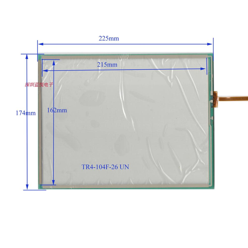 10.4 inch touch screen four wire screen from Taiwan TR104F 225*174